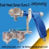 Dualhead Gun-Spray plating-Spray Chrome-Double Nozzle