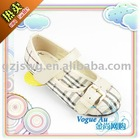 2011 New Design Fashionable Brand Name Front Button Girl Casual Shoes