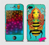 With beauty skin sticker for iphone 5