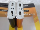high quanlity smart power bank USB port 7000mah external battery charger for best Christmas gift