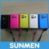 2012 Portable Mini USB FM Radio Loud Speaker Aluminuim material