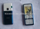 For complete Nokia 6300 housing mobile phone housing with keypad silver, black, red, white