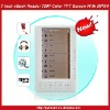 Hot 7inch eBook Reader 720P HD Color Screen With MP3 MP4-White