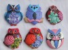 S/6 Owl Fridge magnet for your promotional Campaign