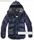 2011 hotsale man down hooded jackets, rabbit long sleeve down jacket for males male hooded down jackets with rabbit fur