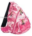 leisure nylon shoulder bag satchel
