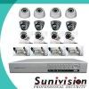 16CH IR CCTV Camera Security Surveillance DVR kit