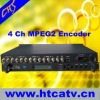 (4IN1) broadcast Mpeg-2 dvb Encoder
