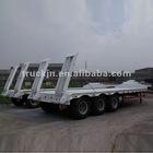 White Lowbed semi-trailer