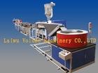 center pivot irrigation system for inner inlaid dripper style drip irrigation tape machine
