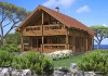 BCH016 Japan Design Prefabricated Wooden/Log House