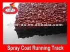 Spray Coat Polyurethane Running Track
