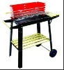 bbq charcoal grill with wheel,portable bbq grill,easy to take