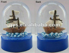 souvenirs snow ball, Snow Globe with Sailboat