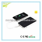 6000mAh high capacity solar battery charger for mobile phone