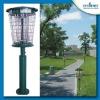 Outdoor 18 Watts UV garden lamp solar mosquito killer lamp
