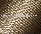 self color or electro galv. 6x7+FC steel wire rope