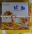 New Paper printed bakery pizza boxes 2012