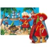 Customized shape die cut paper cardboard jigsaw puzzle,children game