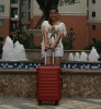fashional and elegant red color luggage case