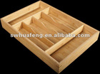 2013 bamboo office retractable storage box for tableware