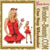 2012 New arrival red sexy halloween costume
