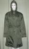 Military Green Raincoat 001