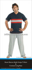 2012 fashionable soft cotton knitted running wear for men