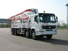 45m Truck-mounted concrete pump (2)