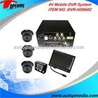 DVR-HD666C car mobile dvr system with monitor/camera suitable for various vehicles