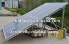 solar power system with 12V home storage integration