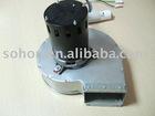 Centrifugal fan for oil burner