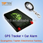 Fuel Monitoring Car GPS Alarm Systems with remote starter TK220S