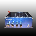 Stereo power audio amplifier