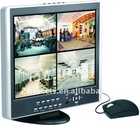 New 3G Mobile View\Email 15inch 4CH Combo LCD DVR ,H.264