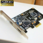 universal PCIe Video Grabber HD Capture Card