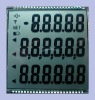 Custom segment lcd display for electronic scale