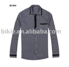 2011 england red check fashion mens shirt