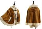 fashion lady winter cape coat