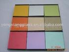 colored mirror glass