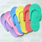 EVA Foam Salon Spa Disposable Pedicure thong Slippers Flip Flop