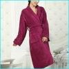 100%polyester coral fleece bathrobe
