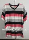 fashional yarn dyed striped men's t shirt
