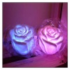 Magic Led Rose Candles Light With Real Flame