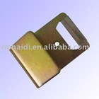 "2""5T zinc plated metal flat hook for webbing"