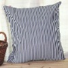 Fashion Traditional Black and White Stripe Printed Cushion/Pillow