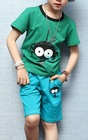 children 100%cotton short sleeve printing cartoon tshirt