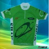latest custom 145GSM coolmax cycling jersey