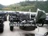 9.9m Cummins 270HP Dongfeng EQ6991RCD3G diesel Bus Chassis