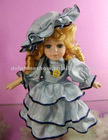 Fashion porcelain dolls 12""